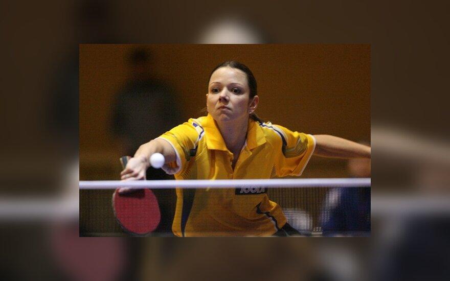 R.Paškauskienė pergalingai pradėjo Vokietijos stalo teniso čempionatą