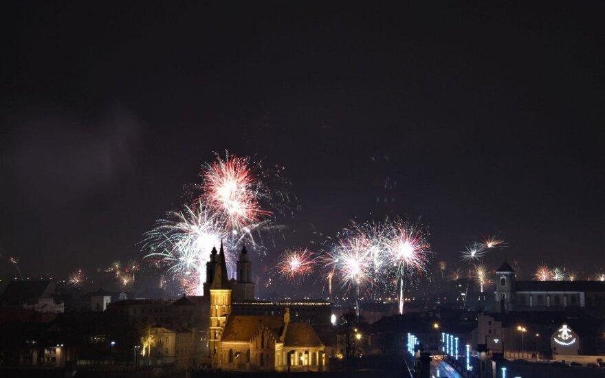Naujųjų metų naktis: pasigrožėkite nuotraukomis ne tik iš Kauno, bet ir Suomijos
