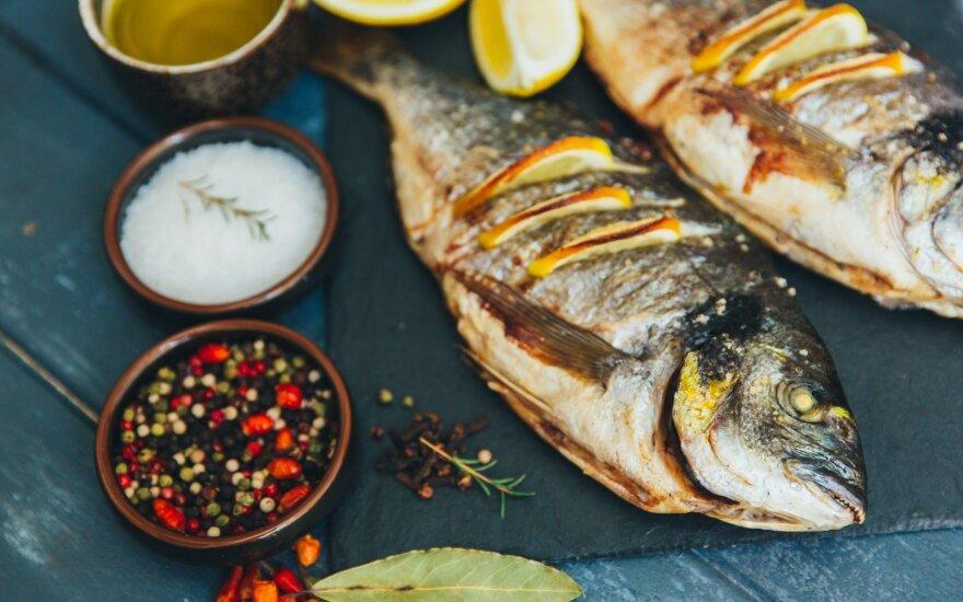 Pabodo šašlykai? Gaminkite žuvį!