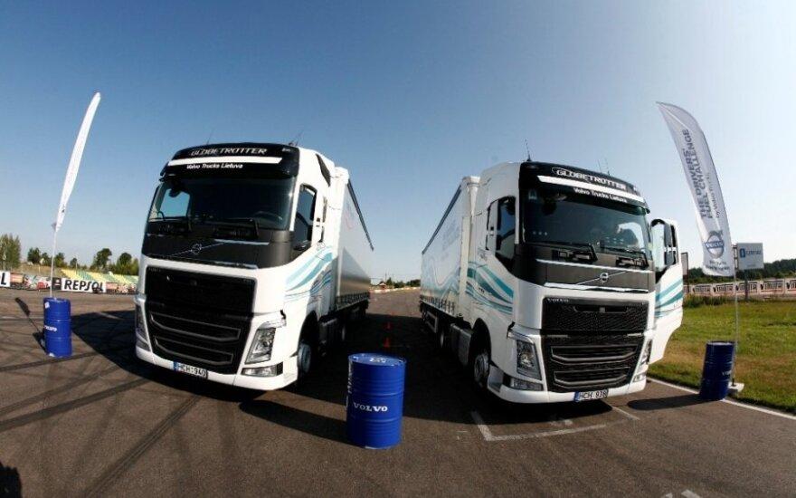 Sunkvežimių vairuotojų ekonomiško važiavimo varžybos
