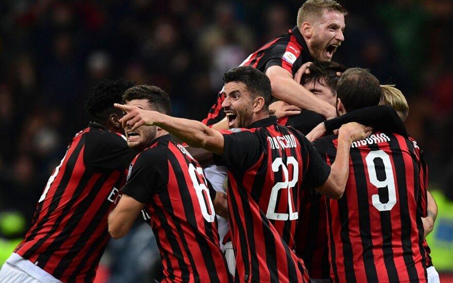 AC Milan futbolininkai
