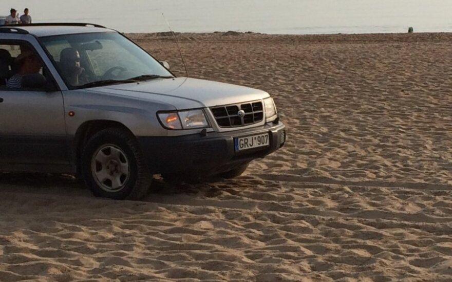"""Savaitės """"Baudos kvitas"""": mano aikštelė - visas paplūdimys!"""