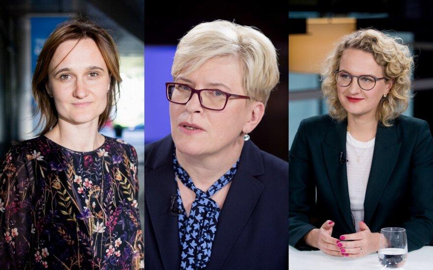 Viktorija Čmilytė - Nielsen, Ingrida Šimonytė, Aušrinė Armonaitė