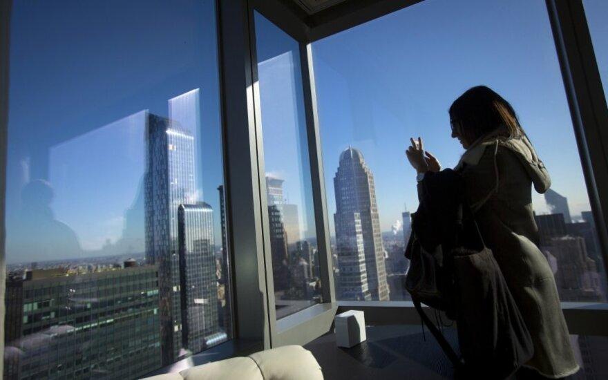Niujorke atidarytas aukščiausias JAV viešbutis