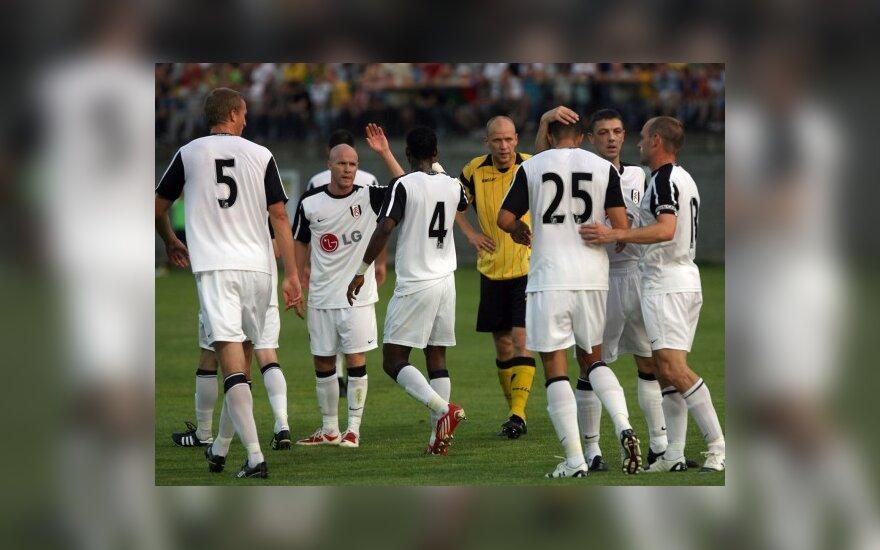 Ištraukti UEFA Europos lygos turnyro atkrintamųjų varžybų burtai