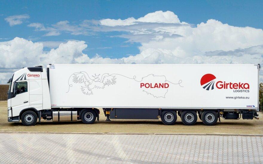 """""""Girteka Logistics"""" atidarė transporto padalinį Lenkijoje"""