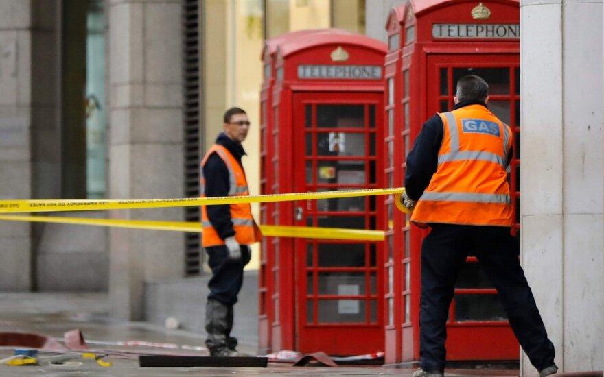 Londono centre – masinė evakuacija