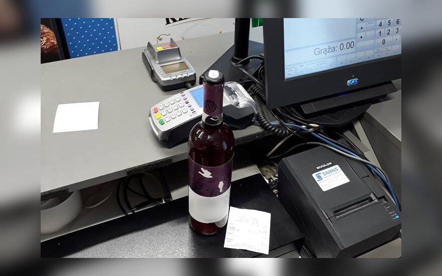 Klaipėdoje nustatytos parduotuvės, kuriose pažeidinėjami alkoholio kontrolės įstatymai