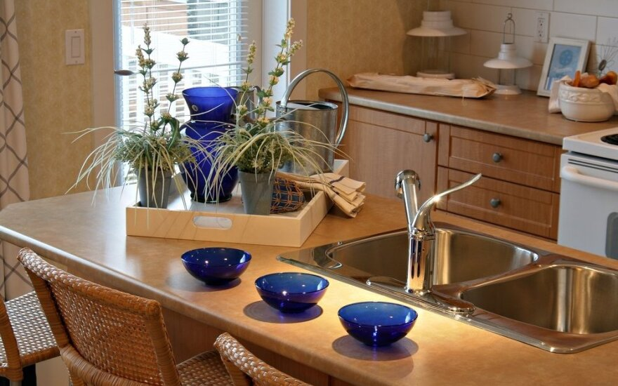 Ką daryti, jei virtuvėje nėra vietos stalui