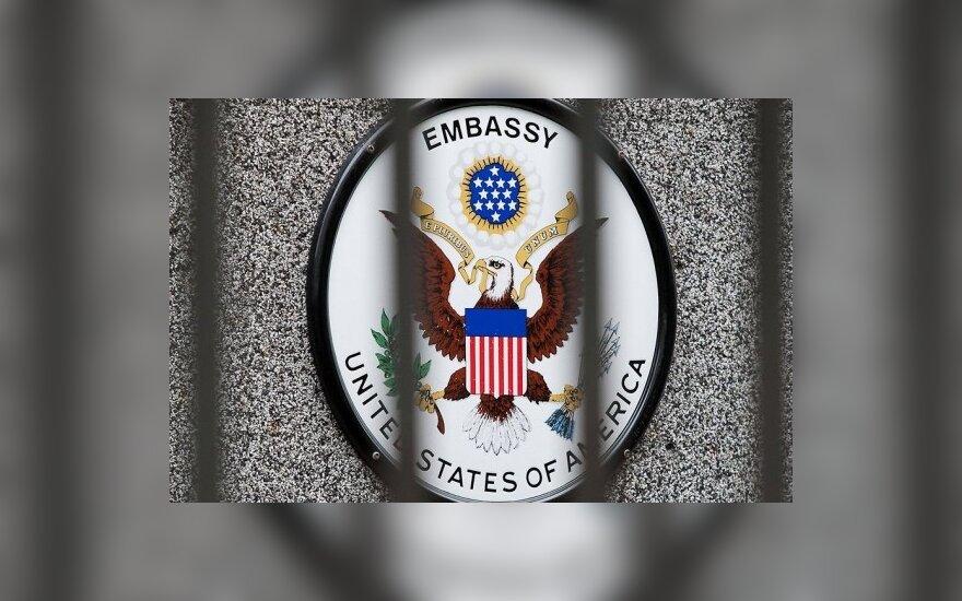 JAV ambasada informacijos dėl Gvantanamo kalinio nekomentuoja