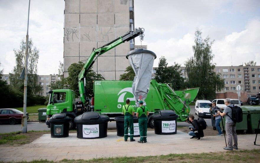 Vilniuje per dvejus metus bus įrengta apie 3 tūkst. naujų atliekų konteinerių