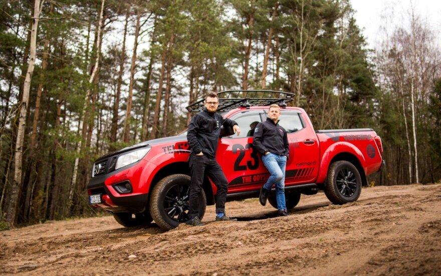 Lietuvių gyvenimo nuotykis – kelionė į Dakaro ralį savo automobiliu