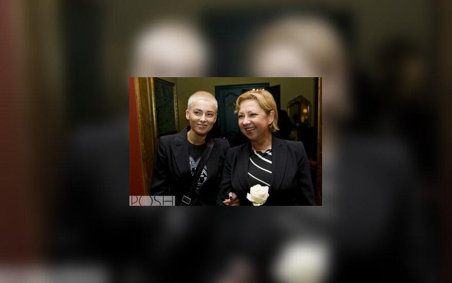 Agnė Jagelavičiūtė su mama