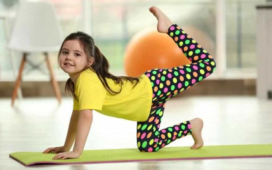 Kaip paskatinti vaikus pamėgti sportą