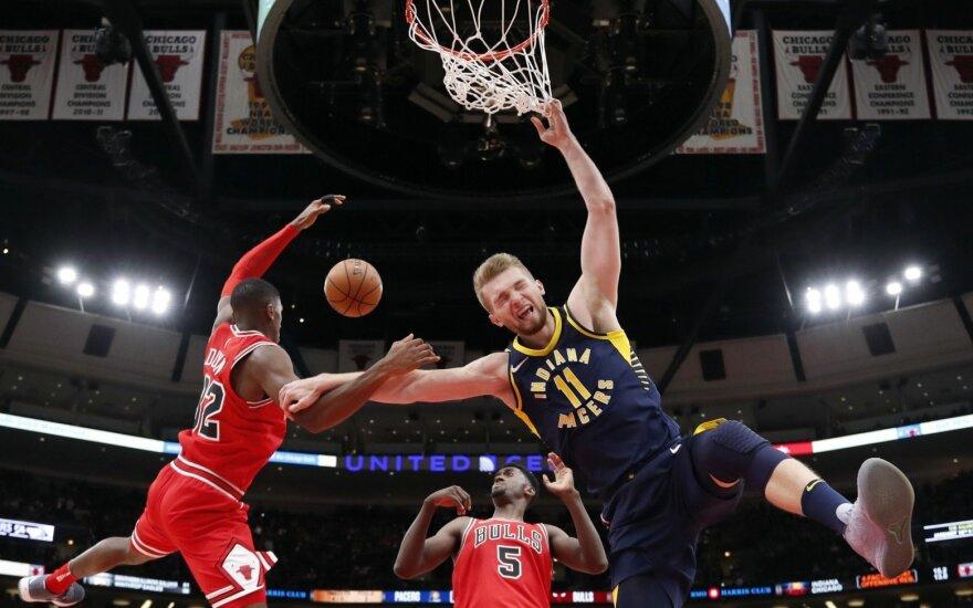 """NBA, Indianos """"Pacers"""" – Čikagos """"Bulls"""""""