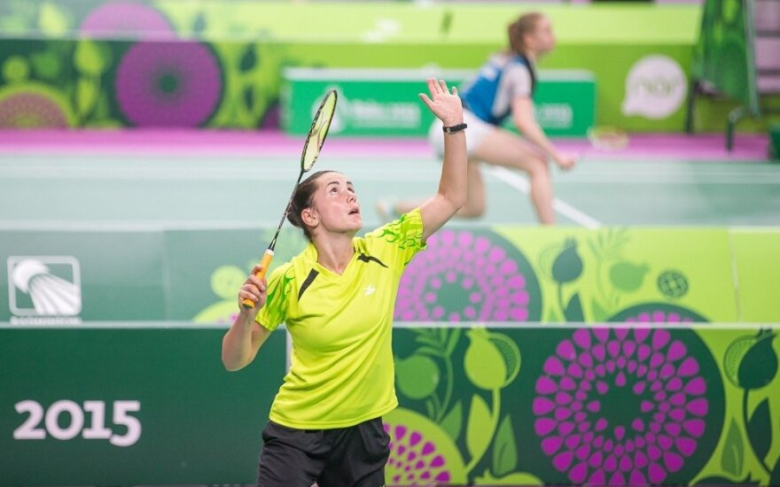 A. Stapušaitytė pateko į turnyro Izraelyje finalą