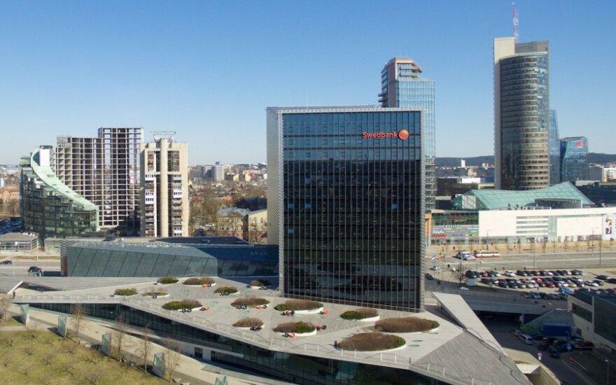 """""""Swedbank"""" per ketvirtį uždirbo 22 mln. eurų grynojo pelno"""