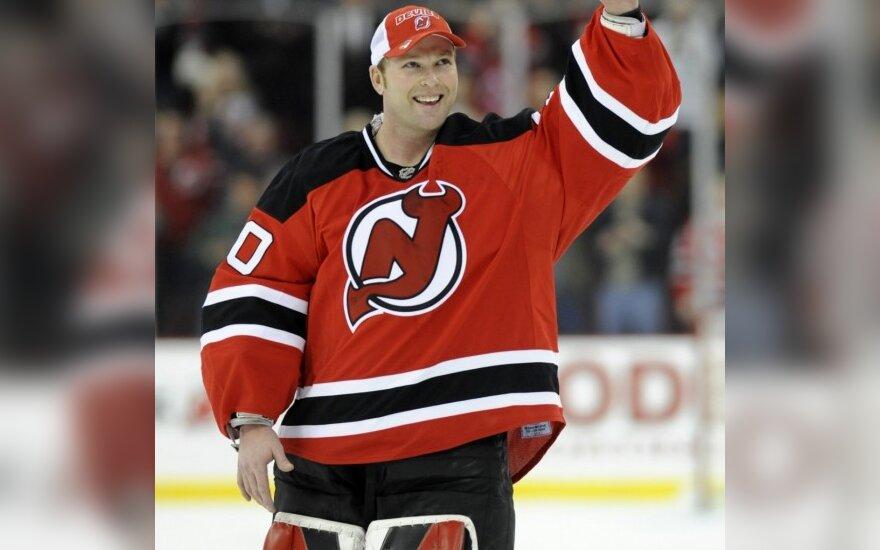 D.Zubraus komandos draugas pagerino NHL rekordą
