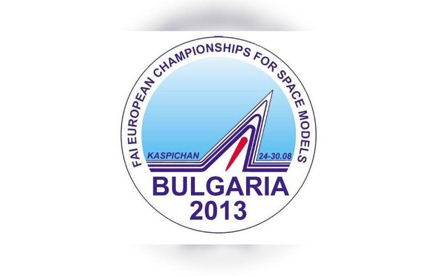 Europos raketų modelių čempionato logotipas