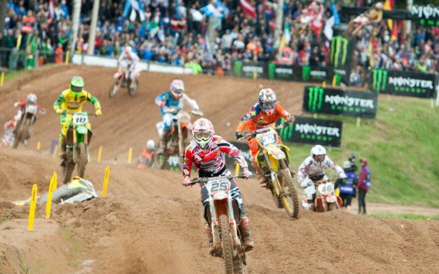 Motociklų kroso olimpinėse žaidynėse triumfavo prancūzai