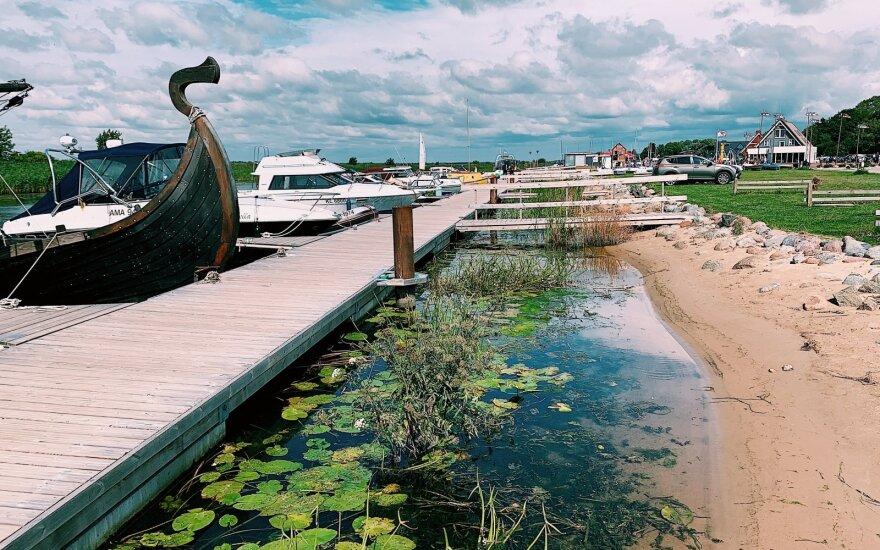 Negalėjo patikėti, kad tai lietuviškas kaimas: ten žmonės jachtom plaukioja
