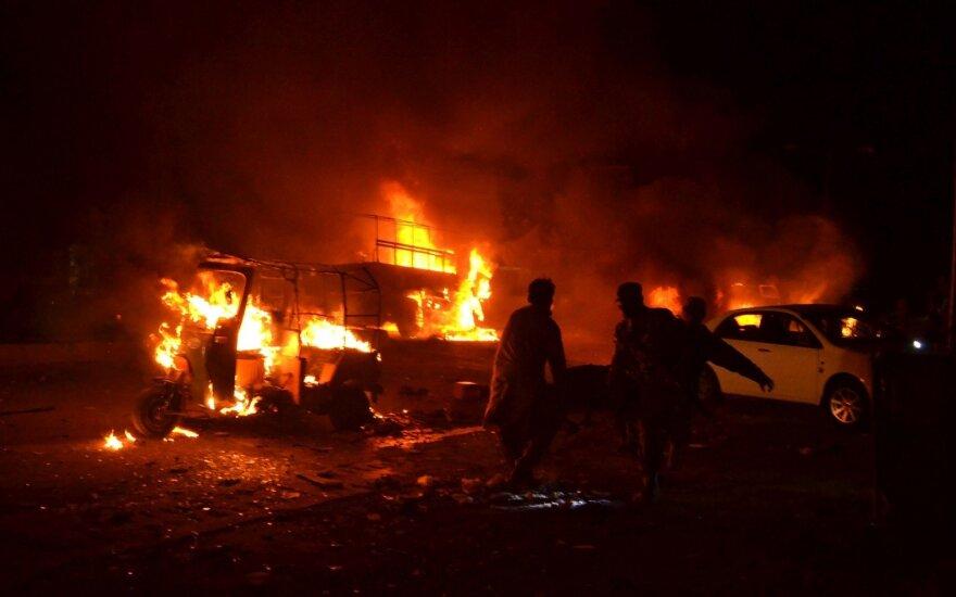 Pakistane nugriaudėjo galingas sprogimas