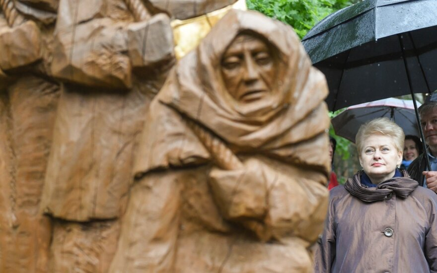 D. Grybauskaitė: masiniai trėmimai įspaudė amžiną kančios ženklą