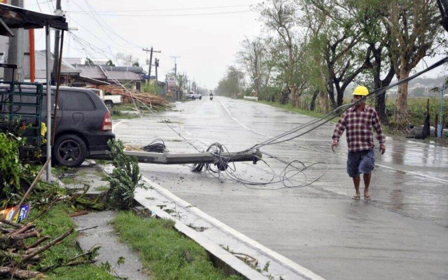 """Filipinams smogė taifūnas """"Yutu"""""""