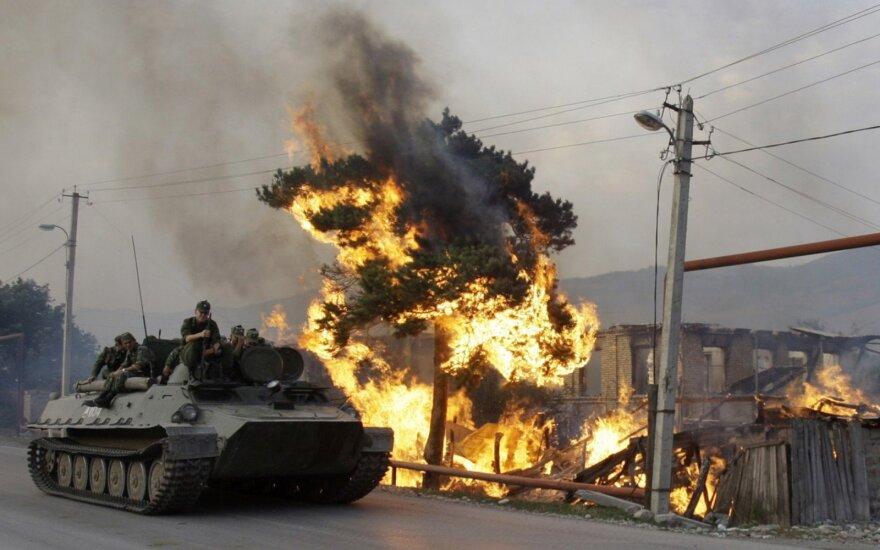 Išgirdę, kad artėja rusų karinės pajėgos, pasileido bėgti: viskas degė