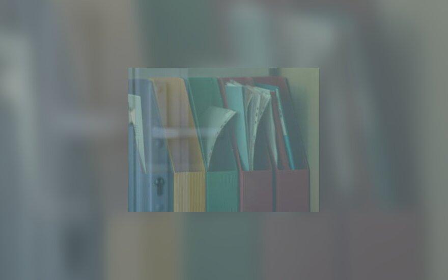 Ofisas, dokumentai, segtuvai