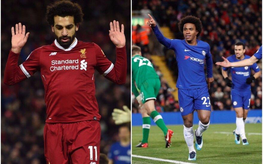 Mohamedas Salah ir Villianas