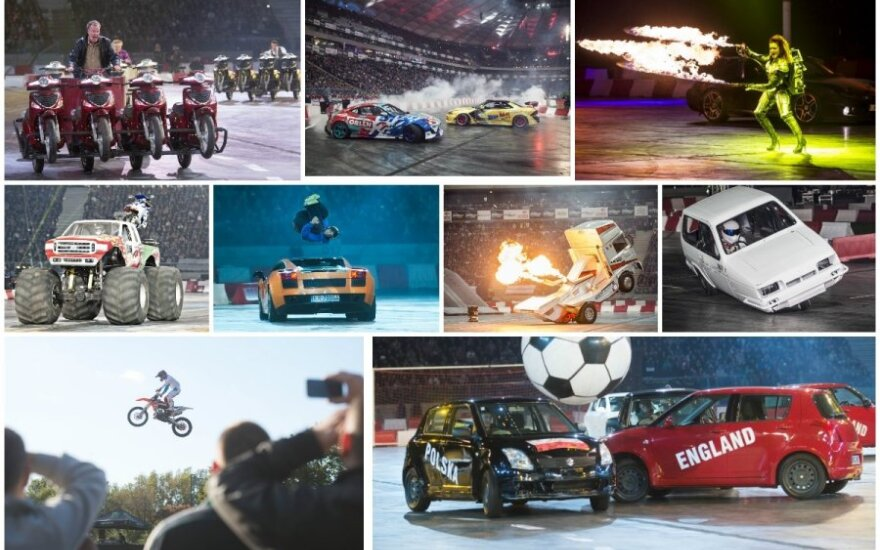 Top Gear Live šou Varšuvoje