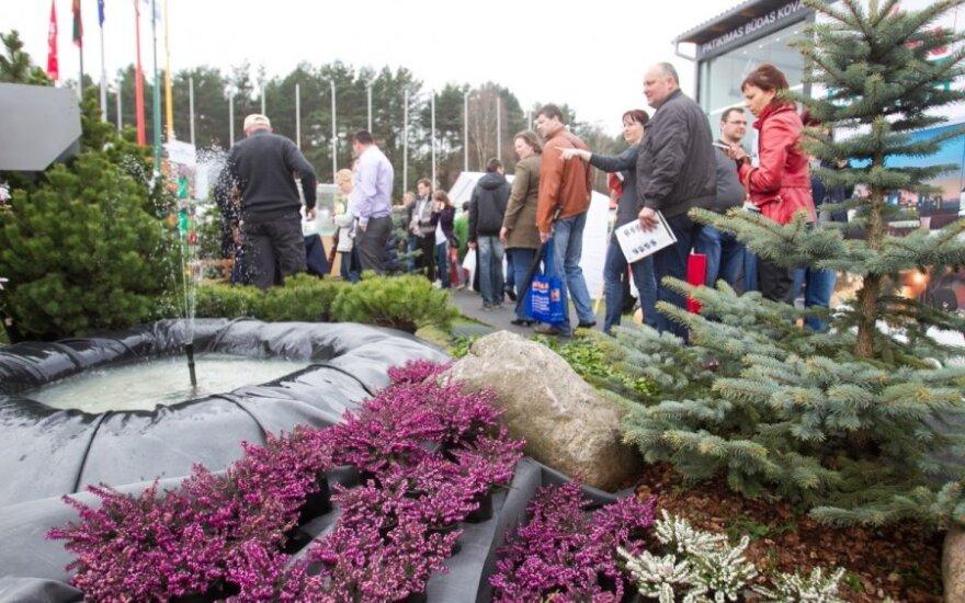 Lietuviškame rūtų darželyje auga net česnakai