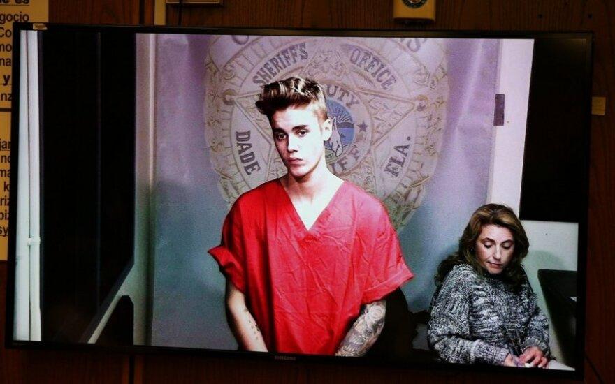 Floridoje sulaikytas J. Bieberis