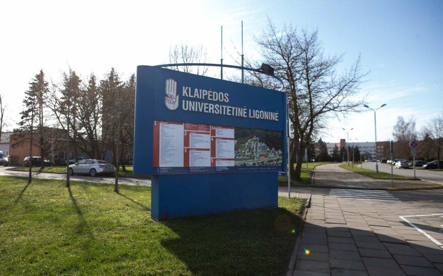 Klaipėdos tarybos nariai susipažins su situacija Klaipėdos universitetinėje ligoninėje