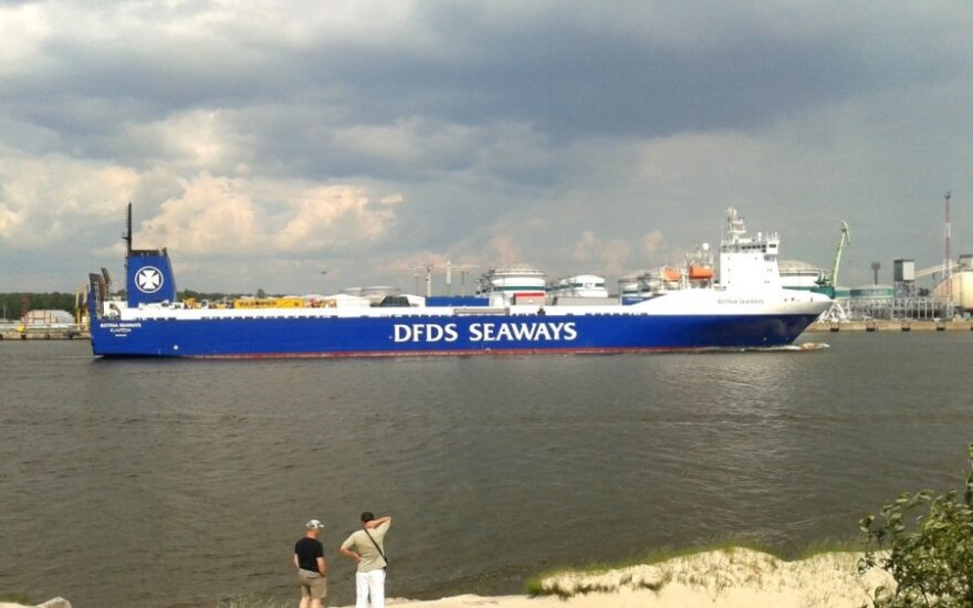 Dėl Rusijos sankcijų uždarė maršrutą iš Klaipėdos