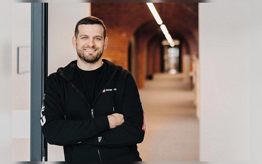"""JAV programavimo paslaugų įmonės """"Devbridge"""" technologinių praktikų vadovas Vytautas Paulauskas"""