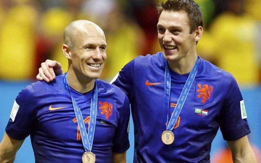 """FIFA pasaulio čempionato """"Svajonių komanda"""" – be olandų"""