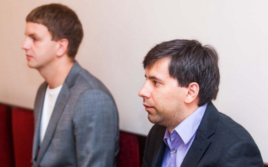 Rokas Einikis ir Tomas Ambrazas