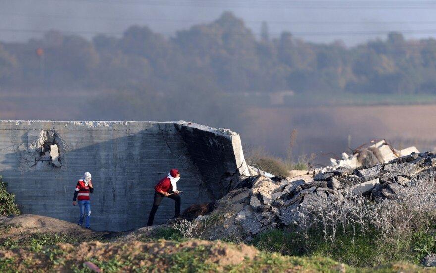 JAV blokavo JT rezoliuciją dėl neramumų Gazos Ruože nepriklausomo tyrimo