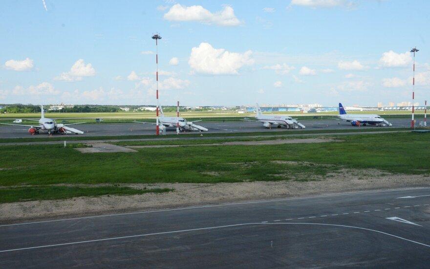 Žiemelis pardavė akcijas Maskvos Žukovskio oro uoste