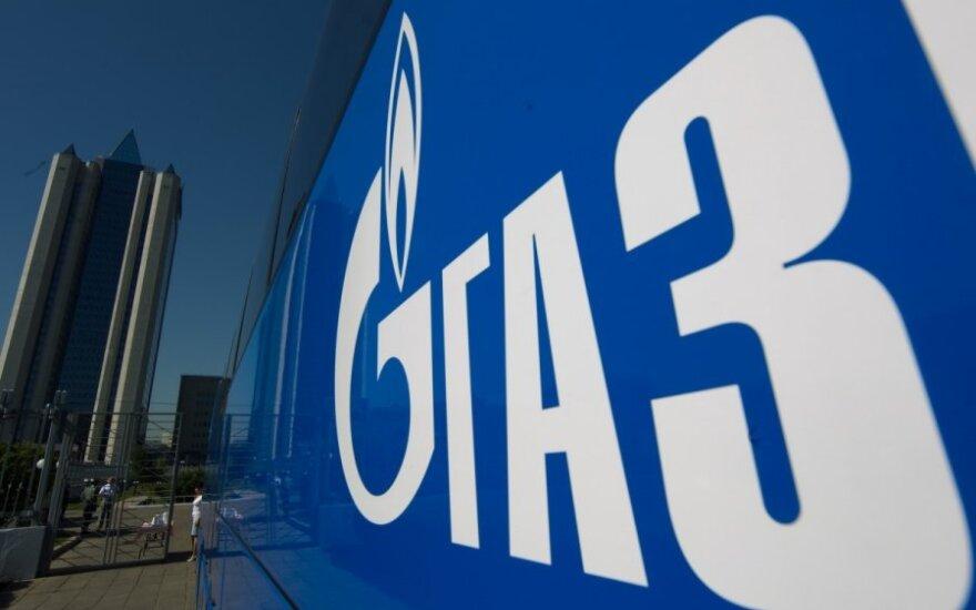 """""""Gazprom"""" pusmečio pelnas išaugo 16 kartų"""