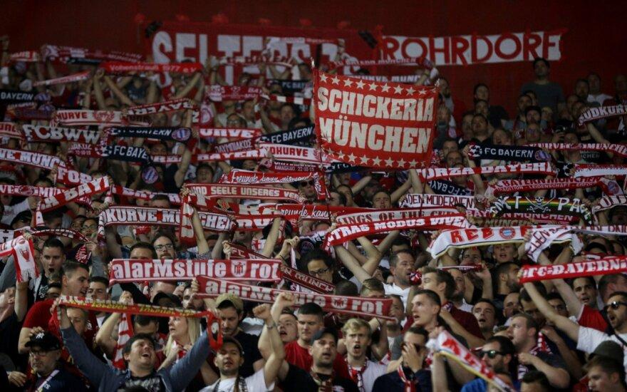 """Graikų chuliganai atakavo """"Bayern"""" sirgalius"""