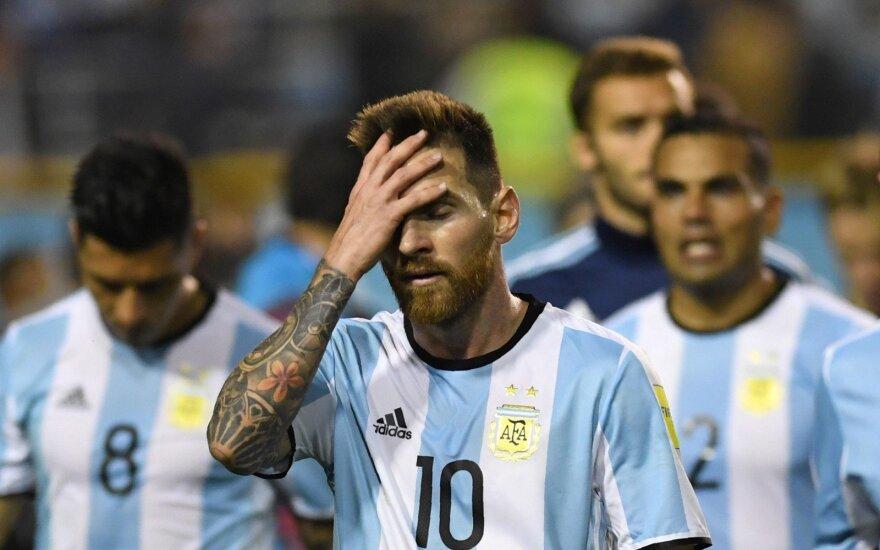 Pasaulio futbolo čempionato atranka: Argentina – Peru