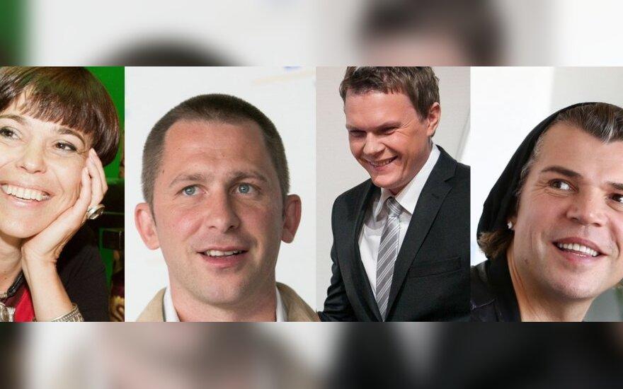 Nomeda Marčėnaitė, Egidijus Dragūnas, Mindaugas Stasiulis, Juozas Statkevičius