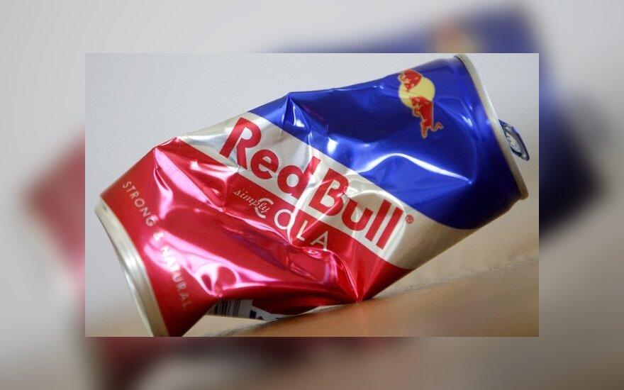 """Belgijoje pavogta 1 mln. eurų vertės """"Red Bull"""" skardinių"""