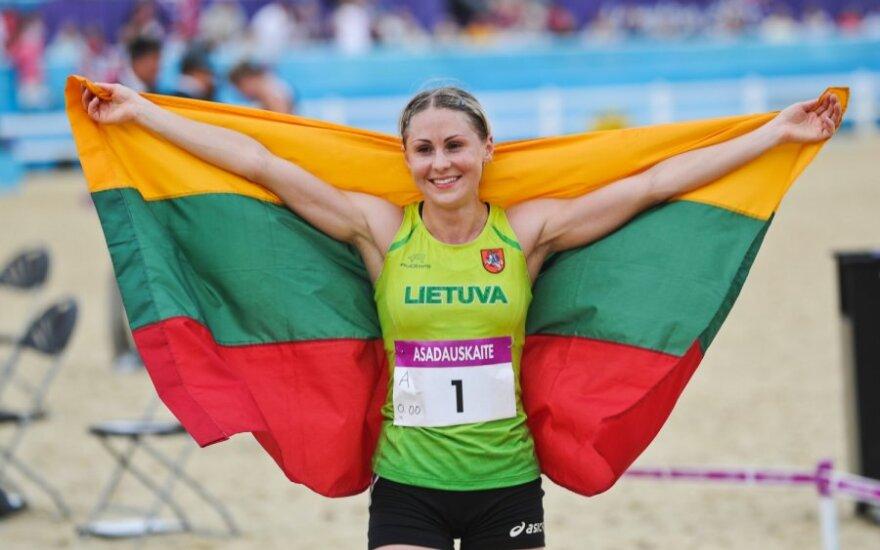 L.Asadauskaitė iškovojo aukso medalį ir uždarė Londono olimpiadą!