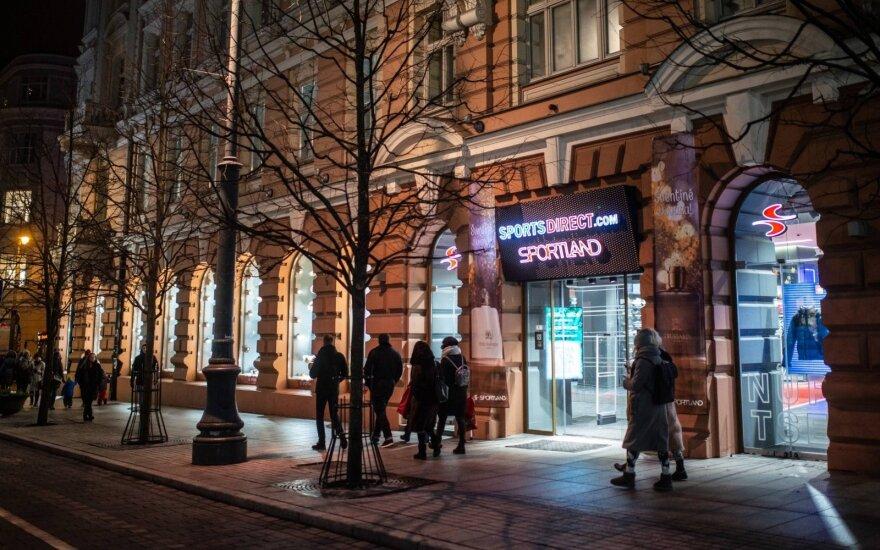 SportsDirect.com parduotuve Vilniuje, Gedimino pr.