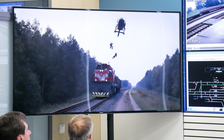Kaip Lietuvoje reaguojama užgrobus traukinį?