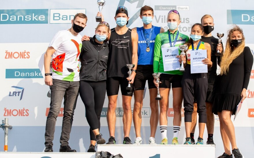 """""""Danske Bank Vilniaus maratonas"""" – pirmosios dienos nugalėtojai"""